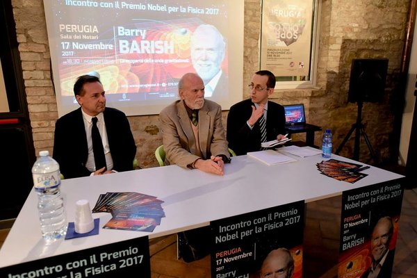 Consecutiva col Premio Nobel Barry Barish